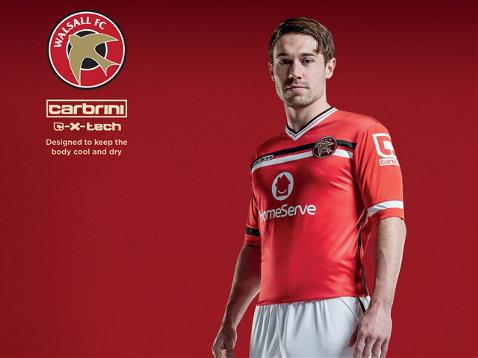 Carbrini Walsall Kit 2015 16