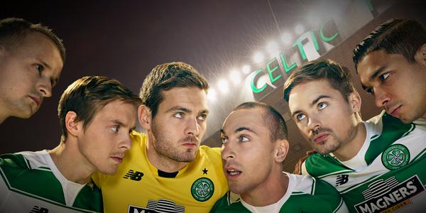 Celtic Home Shirt 2015 16