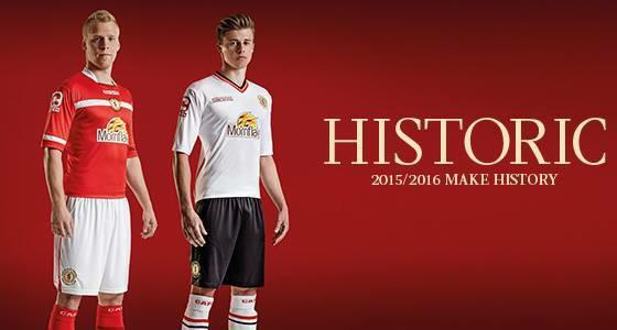 Crewe Alexandra Kit 2015 16