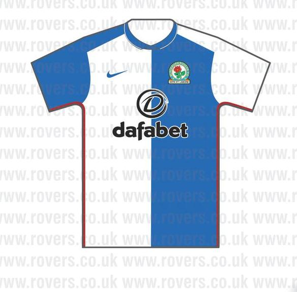 Dafabet Blackburn Rovers Shirt 2015 16