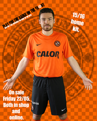 Dundee United Home Strip 15 16