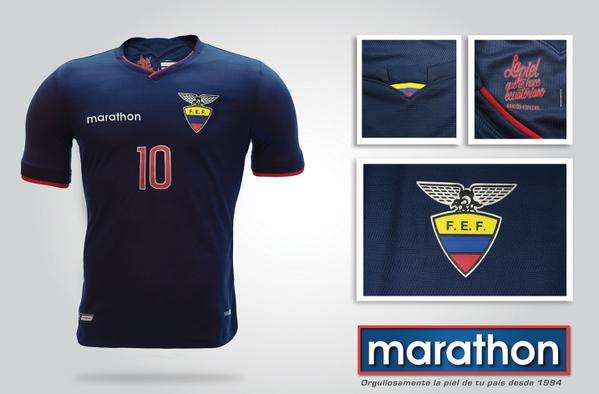 Ecuador Away Jersey 2015