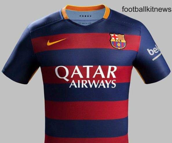 FC Barcelona Home Kit 15 16
