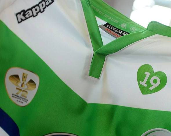 Heart on Wolfsburg Jersey Malanda Tribute