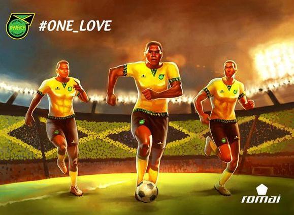 Jamaica Romai Kit 2015