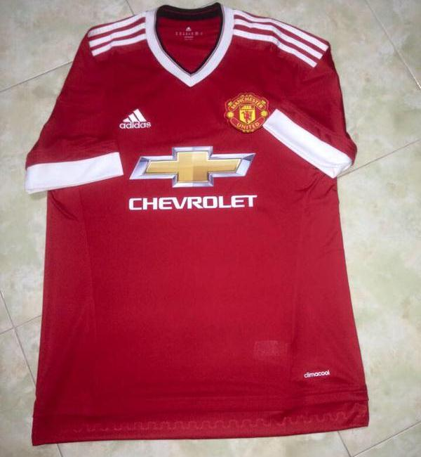 Man Utd Home Kit Leaked 15 16