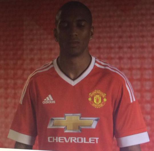 Man Utd Leaked Shirt Ashley Young