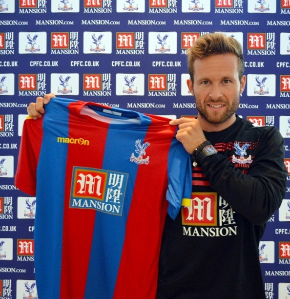 Mansion Sponsor Crystal Palace Home Shirt 15 16