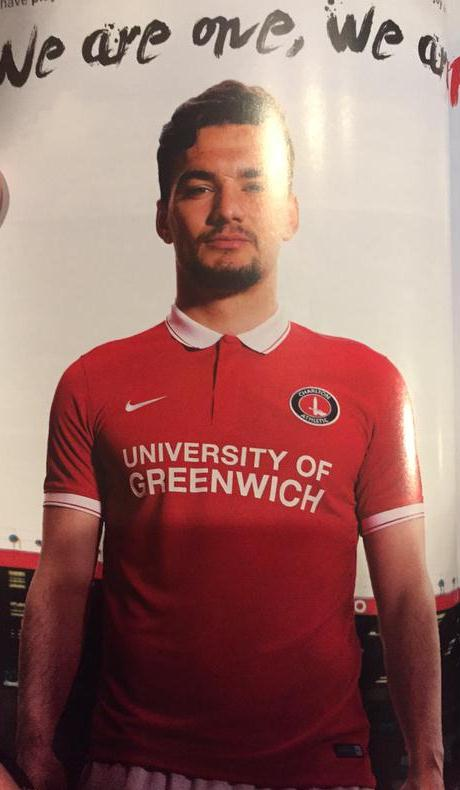 New Charlton Kit 15-16