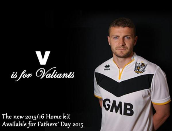 New Port Vale Kit 2015 16