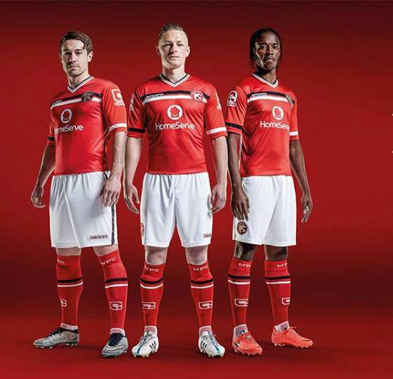 New Walsall Kit 15 16