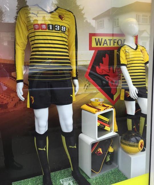 New Watford Kit 15 16