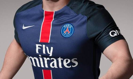 Official New PSG Home Kit 15-16 by Nike Unveiled  fa5af9663