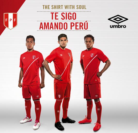 Peru Away Shirt Copa America 2015