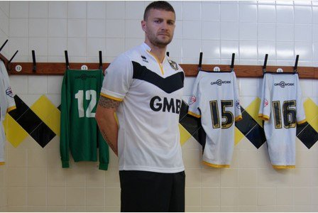 Port Vale Errea Home Shirt 2015 16