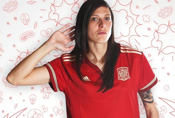 Spain Womens World Cup Jersey 2015