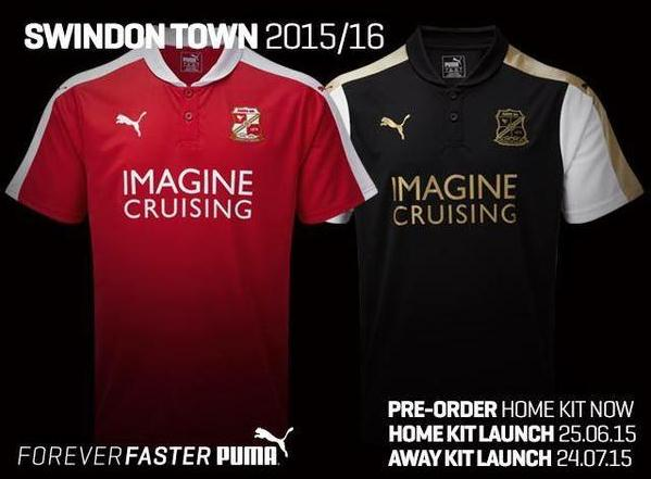 Swindon Puma Shirt 2015 16
