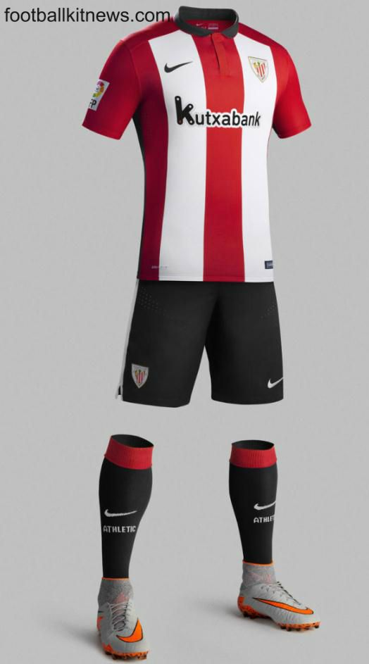 Athletic Bilbao Kit 2015 16