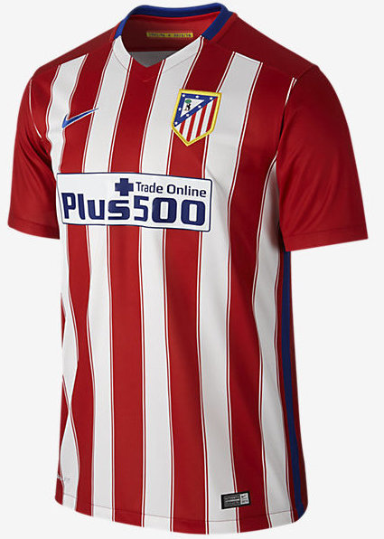 Atletico Madrid Home Kit 15 16