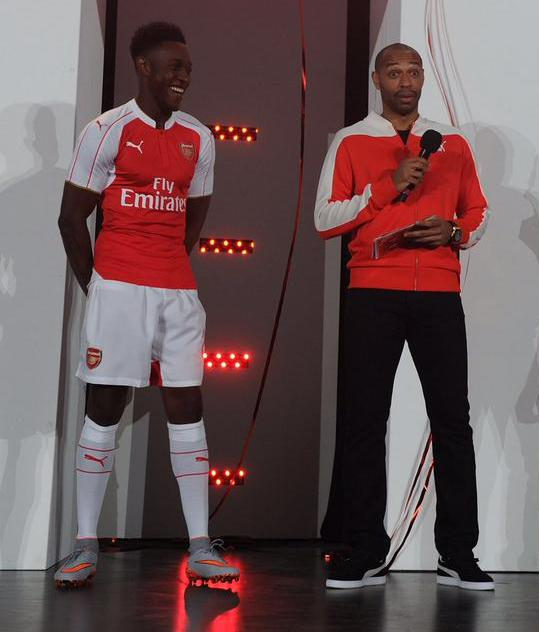 Danny Welbeck Arsenal Kit 2015 2016
