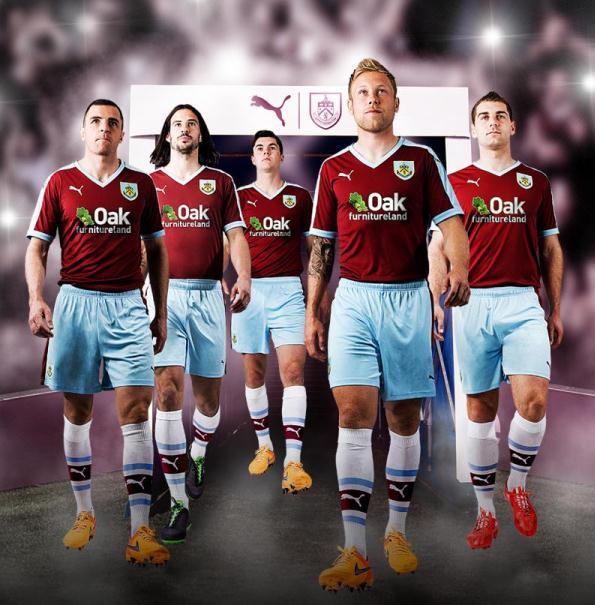 New Burnley Kit 15-16- Burnley FC Puma Home Shirt 2015 ...