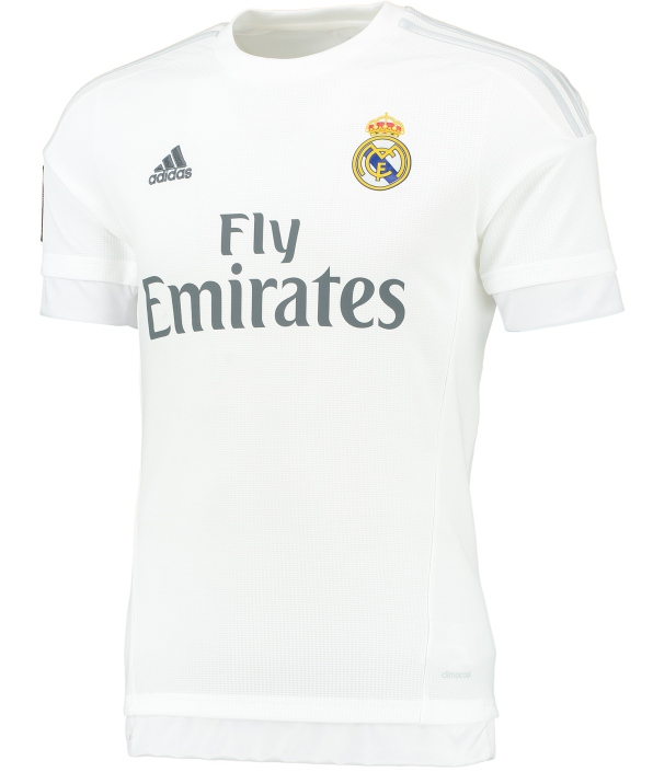 hot sale online 26b19 61255 New Real Madrid Kit 15-16 Real Madrid Home Grey Away Jerseys ...
