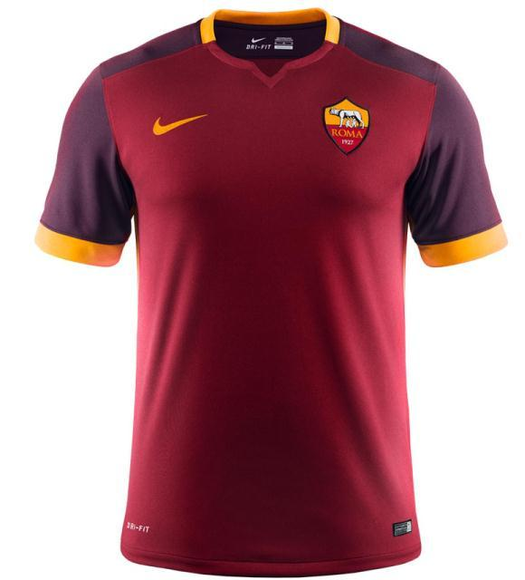Jersey Roma 2015-16