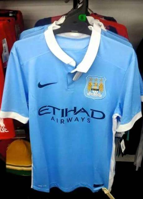 Leaked Man City Home Kit 2015 16