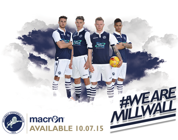 New Millwall Home Kit 15 16