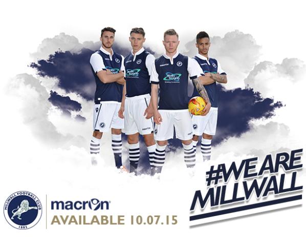 New Millwall Home Kit 15 16