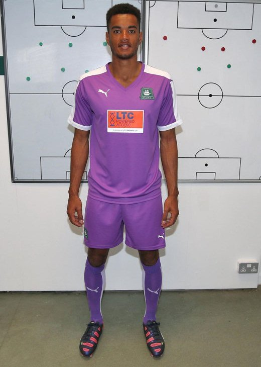 New Plymouth Argyle Kit 2015 16