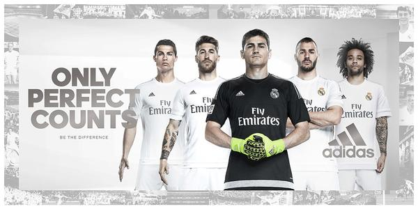 New Real Madrid Kit 15 16