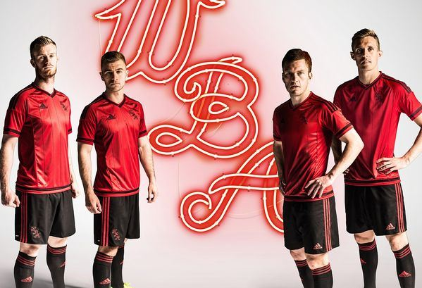 New West Brom Away Kit 2015 2016