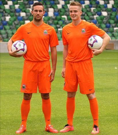 Orange Linfield Jersey 2015 2016
