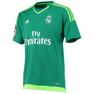 Real Madrid Away Goalkeeper Kit 15 16