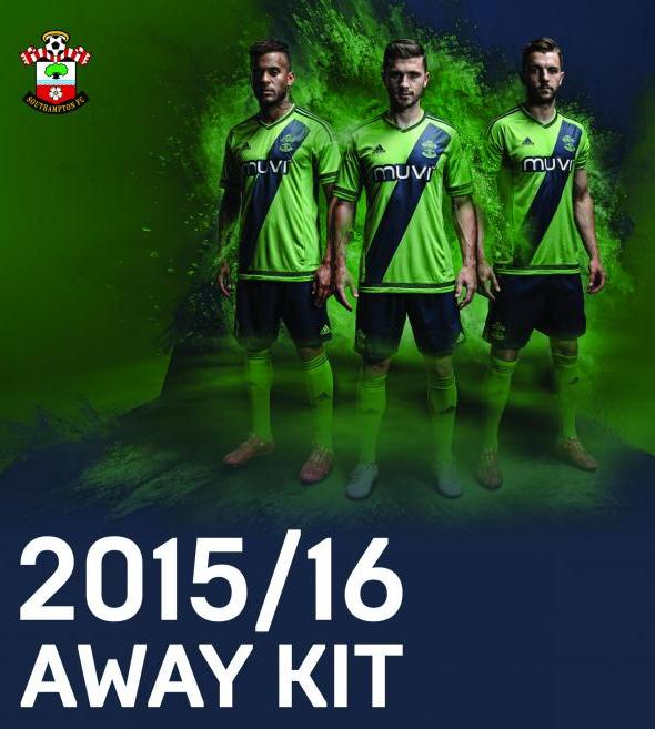 Southampton Away Kit 15 16