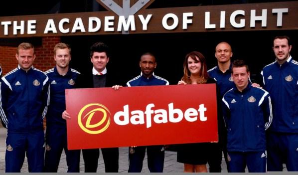 Sunderland Dafabet Sponsorship Deal