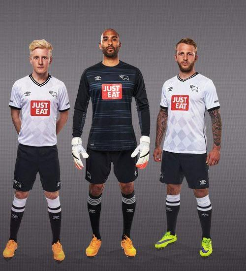 Umbro Derby County Kit 15 16