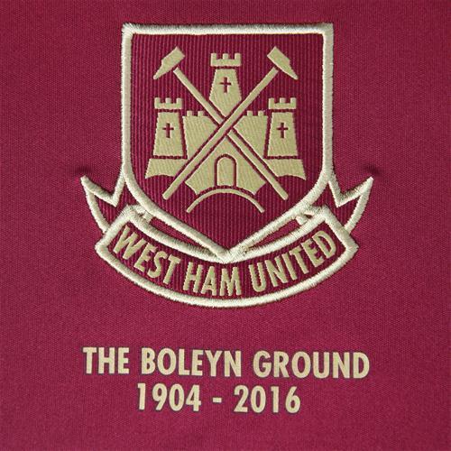 West Ham Crest 15 16