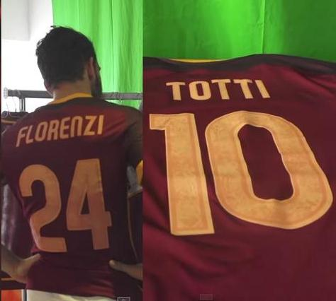 New Roma Kit 15-16- AS Roma Nike Jersey 2015-2016 Home  175a718b2