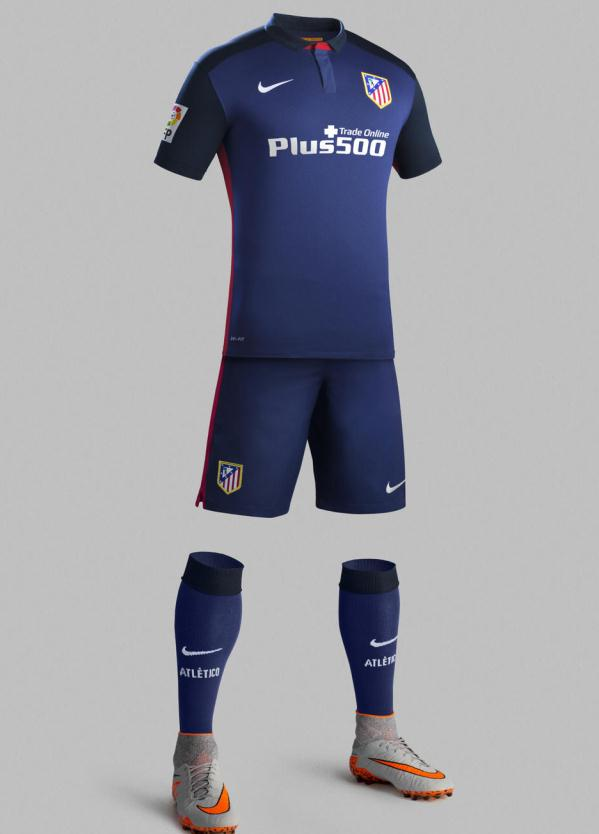 Atletico Madrid Away Kit 2015 16