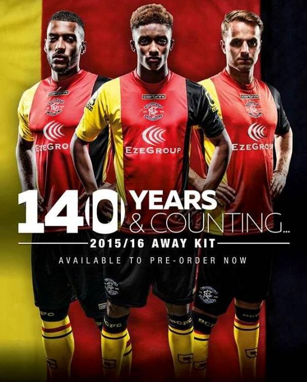 BCFC Away Kit 15 16