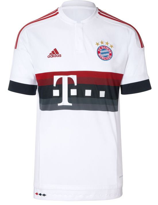 Bayern Away Shirt 15 16