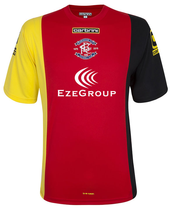 Birmingham City Away Kit 2015 16