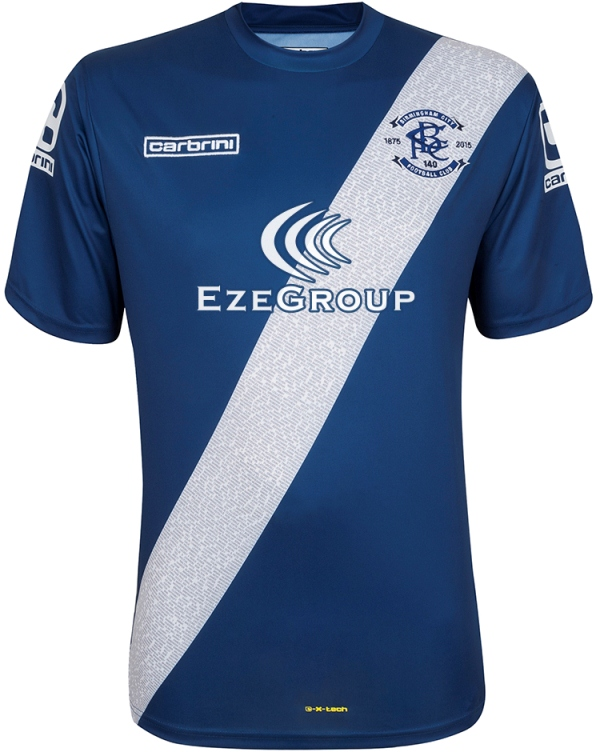 a51462c7e New Birmingham City Kit 15 16- Carbrini BCFC Home Shirt 2015-2016 ...