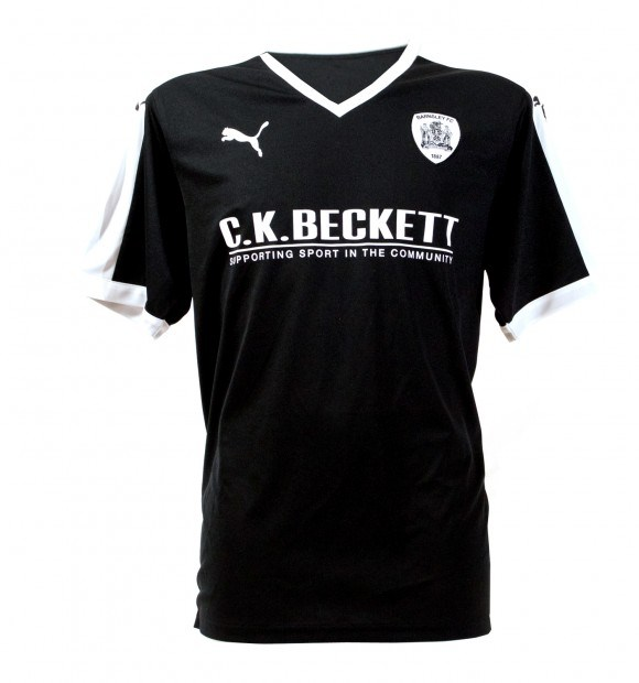 Black Barnsley Shirt 2015 2016