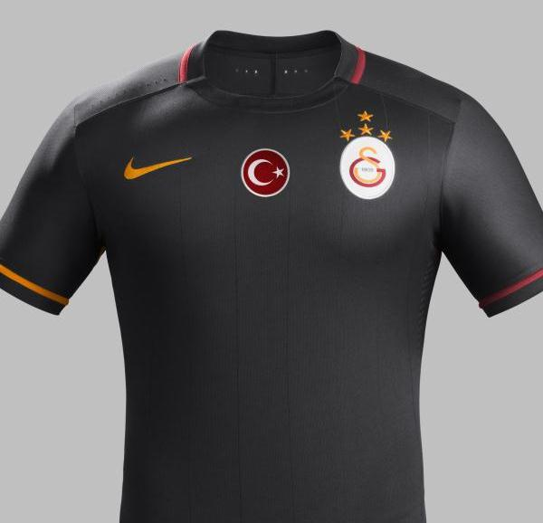 Black Galatasaray Shirt 2015 2016