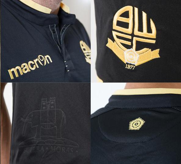Bolton Away Shirt Pic 15 16