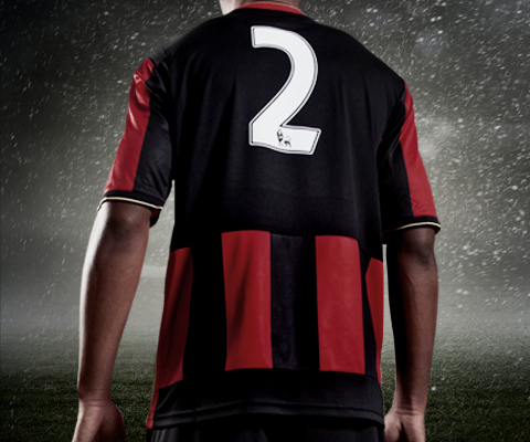Bournemouth Shirt Back