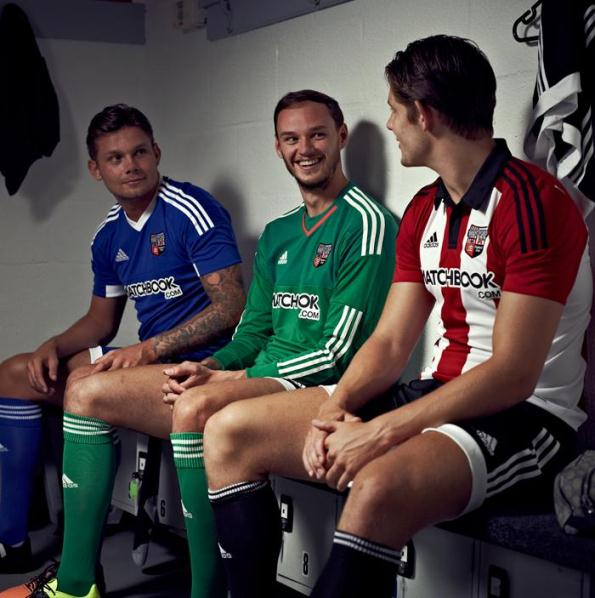 Brentford Kit 2015 16